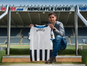 Ayoze Perez signerte fredag for Newcastle.