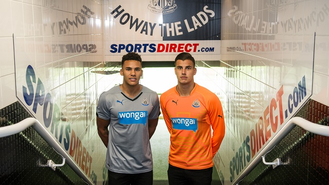 Newcastle United Unveil New Signings Karl Darlow and Jamaal Lascelles