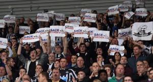 Mange supportere viste hva de mente mot Stoke
