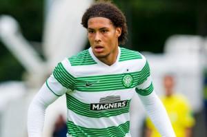 Virgil van Dijk imponerer i Celtic og er aktuell for en overgang til en større liga.