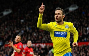 Cabaye sikret 0-1-seier på Old Trafford i fjor. I år er det et skadepreget lag som møter Manchester United.